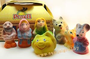 Набор резиновых игрушек Репка