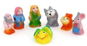 Набор резиновых игрушек Репка в коробке