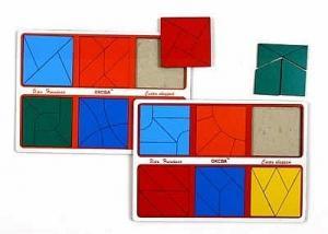 Сложи квадрат 3 уровень Методика Б.П.Никитина. Эконом