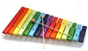 Ксилофон 15 тонов