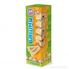 Настольная игра Башня с заданиями для детей