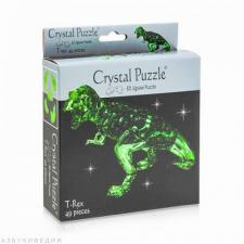 Crystal Puzzle Динозавр зеленый 3Д пазл