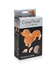 Crystal Puzzle Такса 3Д пазл