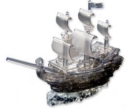 Crystal Puzzle Пиратский корабль 3Д пазл