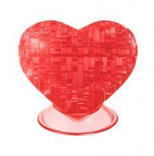 Crystal Puzzle Сердце Красное 3Д пазл