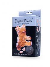 Crystal Puzzle Мишка Янтарный 3Д пазл