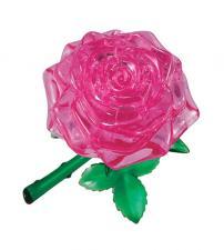 Crystal Puzzle Роза Розовая 3Д пазл