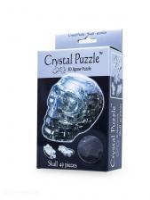 Crystal Puzzle Череп Серебристый 3Д пазл