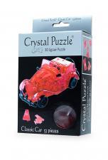 Crystal Puzzle Автомобиль Красный 3Д пазл