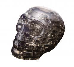 Crystal Puzzle Череп Чёрный 3Д пазл