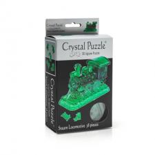 Crystal Puzzle Паровозик 3Д пазл