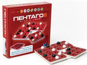 Настольная игра Пентаго (игра с умом)