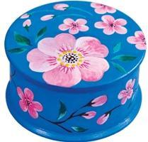 Шкатулка для росписи акриловыми красками «Сакура»