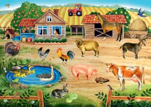 Напольный пазл-мозаика Ферма большой