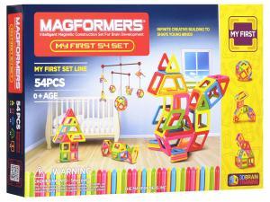 Магнитный конструктор Магформерс My First Magformers 54 set