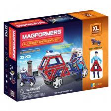 Магнитный конструктор Магформерс Magformers XL Cruiser set Служба Спасения