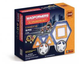 Магнитный конструктор Магформерс Magformers XL Cruiser set Строители