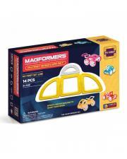 Магнитный конструктор Магформерс Magformers My First Buggy Car set желтый