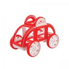 Магнитный конструктор Магформерс Magformers My First Buggy Car set красный