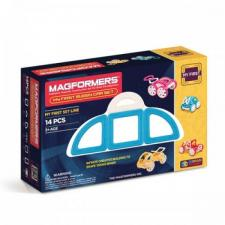 Магнитный конструктор Магформерс Magformers My First Buggy Car set синий