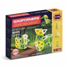 Магнитный конструктор Магформерс Magformers My First Forest World set