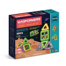 Магнитный конструктор Магформерс Magformers Space Traveler set