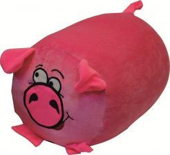Подушка Свинюшка велюр 23*33 см.
