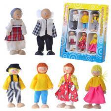 Набор кукол 6 шт