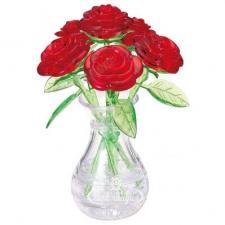 Crystal Puzzle Ваза с розами 3Д пазл