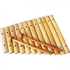 Ксилофон 12 тонов неокрашенный