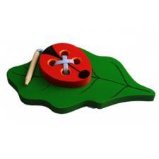 Шнуровка Жучок на листике
