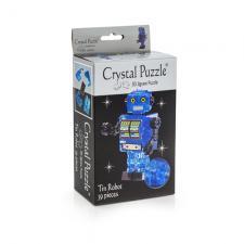 Crystal Puzzle Робот Синий 3Д пазл