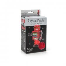 Crystal Puzzle Робот Красный 3Д пазл