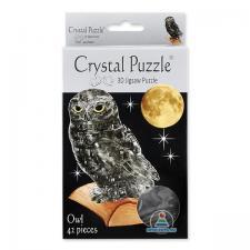 Crystal Puzzle Сова Дымчатая 3Д пазл