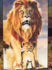 3D пазл портрет Лев