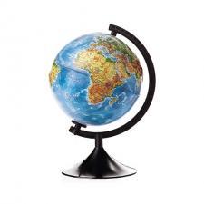 Глобус Земли физический 210 мм Рельефный Классик