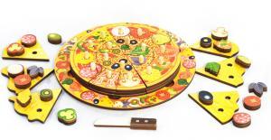 Пицца - игровой набор (5 слоев, 54 эл.)