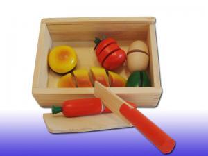 Разрезные деревянные овощи  Готовим завтрак 9982B