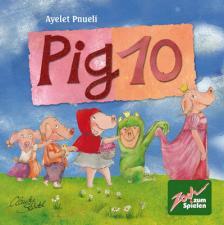 Настольная игра 10 свинок Pig 10