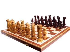 Шахматы ручная работа вишня