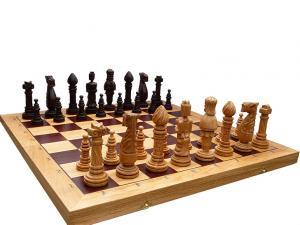 Шахматы ручная работа дуб