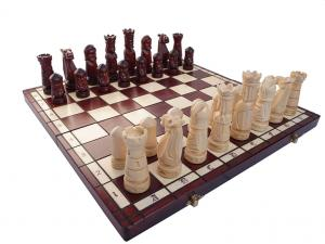 Шахматы ручная работа 50*50 см светлые