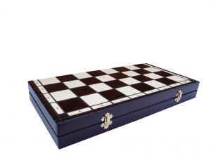Шахматы елочные с вкладкой 48*48 см