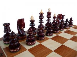 Шахматы ручная работа темные