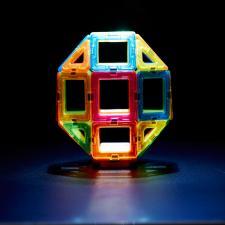 Магнитный конструктор Магформерс Magformers Neon LED set
