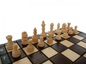 Шахматы ручная работа 26*26 см с нардами