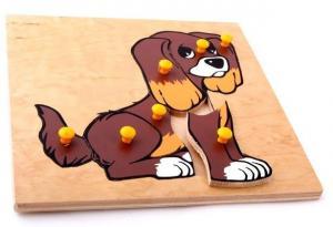 Рамка-вкладыш Собака ЛЭМ