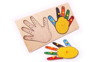 Рамка-вкладыш Руки Пальцы ЛЭМ