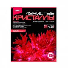 Набор для выращивания кристаллов Лучистые кристаллы Красный