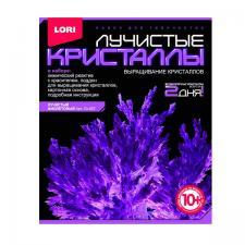 Набор для выращивания кристаллов Лучистые кристаллы Фиолетовый